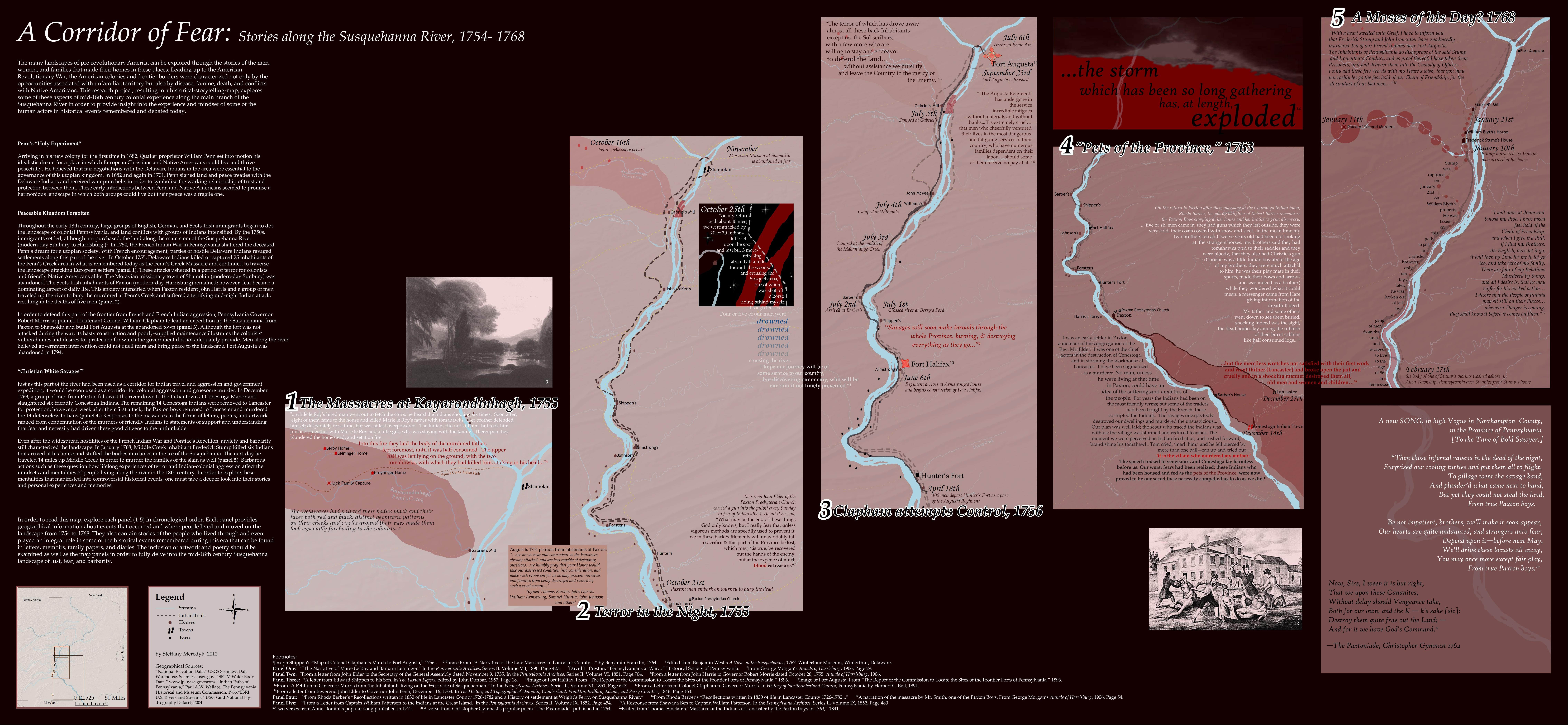 Meredyk Paxton Map